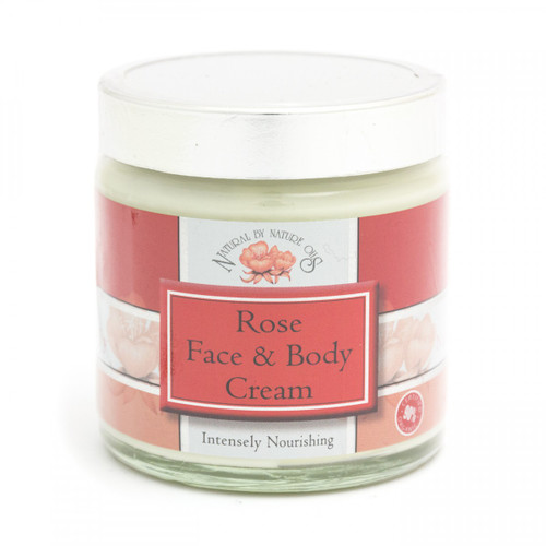 Rose Organic Face & Body Cream (100g)