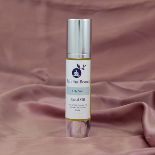 Oily Skin Organic Facial Oil (50ml)