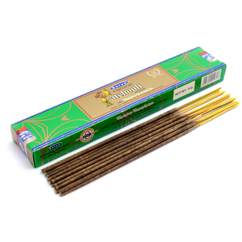 Natural Patchouli Satya Incense Sticks
