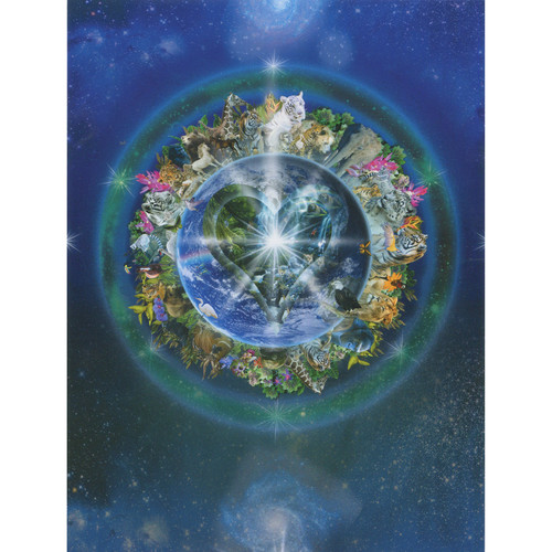 Cosmic Essence Greeting Card (Friendship) by Alixandra Mullins