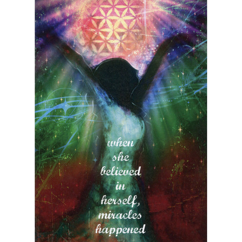 Miracles Happen Greeting Card (Encouragement)