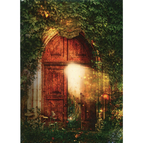 Open Door Greeting Card (Blank)