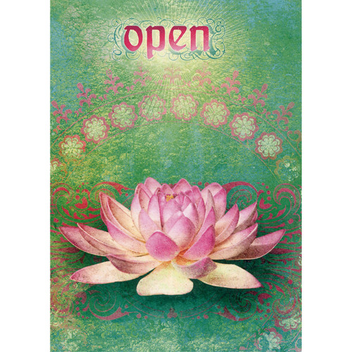 Open Greeting Card (Encouragement)