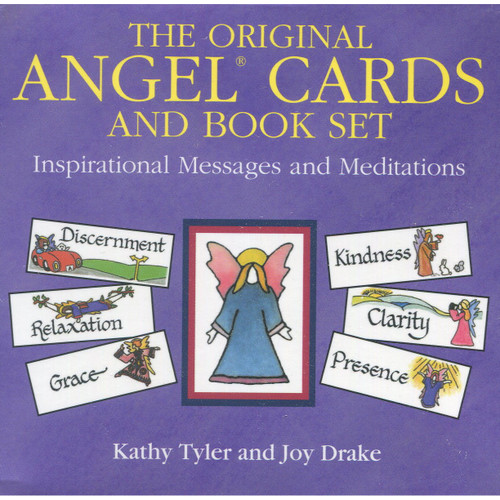 Original Angel Cards (Cards & Book) by Kathy Tyler & Jon Drake
