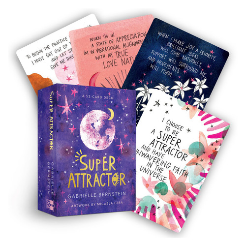 Super Attractor Affirmation Cards by Gabrielle Bernstein