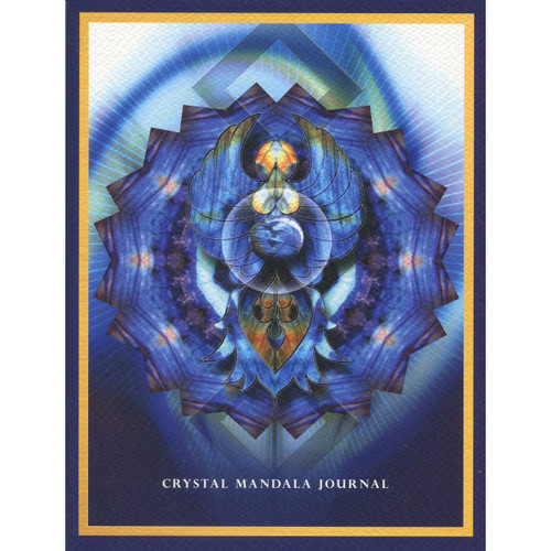 Crystal Mandala Journal by Alana Fairchild