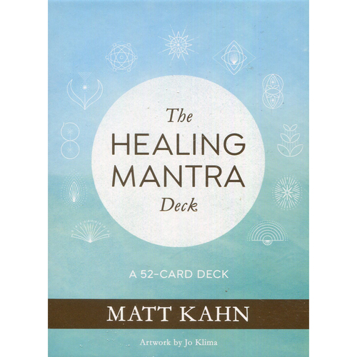 The Healing Mantra Oracle Deck by Matt Kahn
