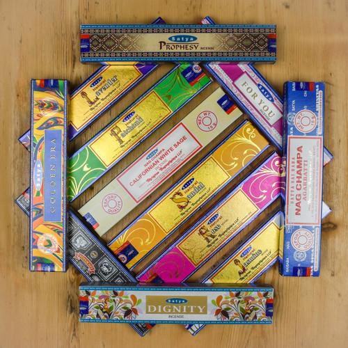 Satya Classic Mixed Incense Box