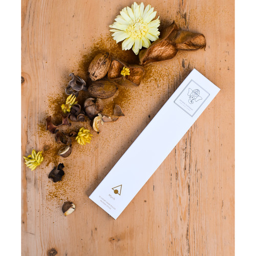 Myrrh Luxury Incense (10 Sticks) by Sacred Elephant