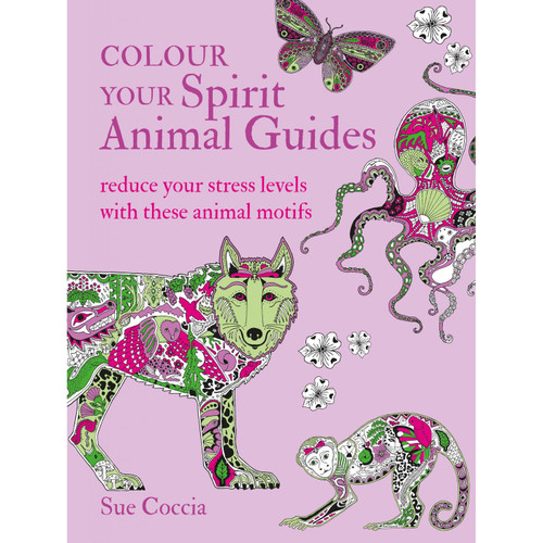 Colour Your Spirit Animal Guides by Sue Coccia