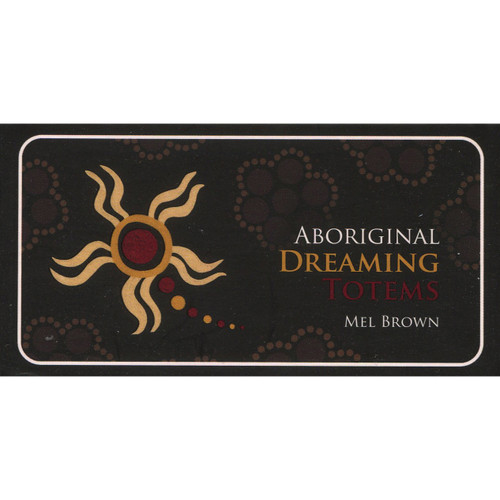 Aboriginal Dreaming Totems Mini Cards by Mel Brown