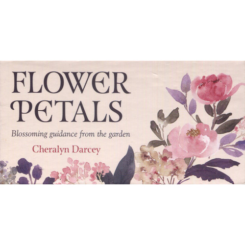 Flower Petals Mini Cards by Cheralyn Darcey