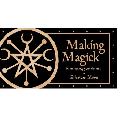 Making Magick Mini Cards by Priestess Moon