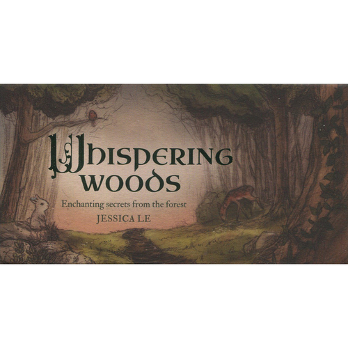 Whispering Woods Mini Cards by Jessica Le