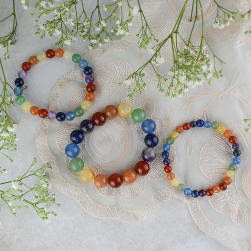 Chakra Power Bracelet (Various Sizes Available)