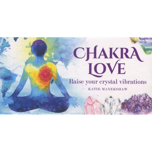 Chakra Love Mini Cards by Katie Manekshaw
