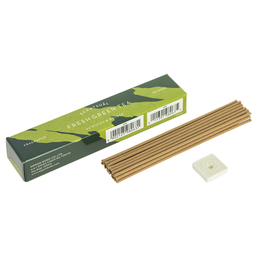 Fresh Matcha Scentsual Incense (30 Sticks)