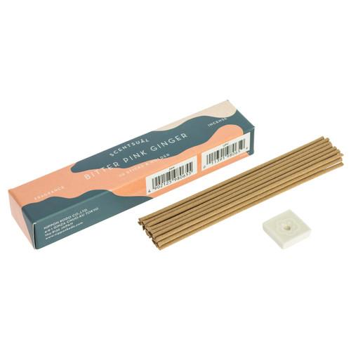 Bitter Pink Ginger Scentsual Incense (30 Sticks)