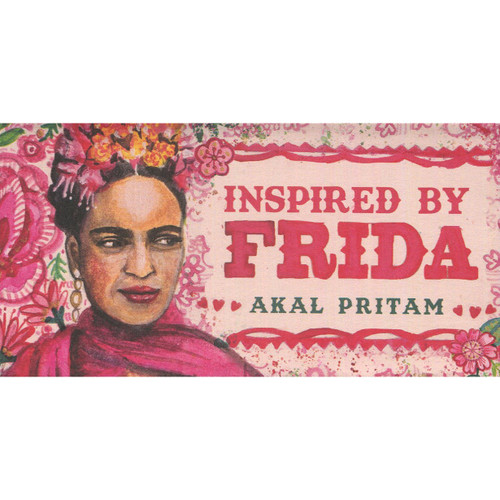Inspired by Frida Mini Cards by Akal Pritam