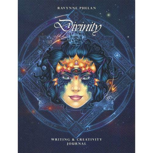 Divinity Writing & Creativity Journal by Ravynne Phelan