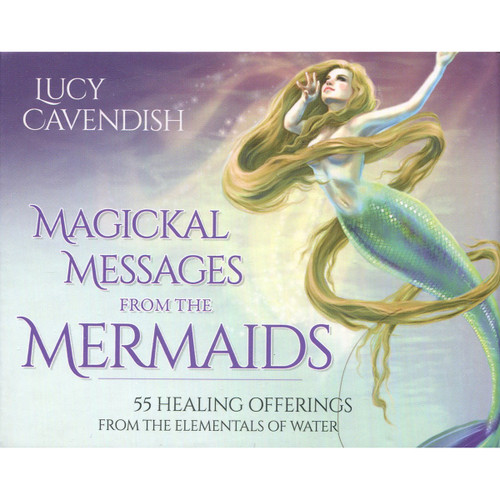 Magickal Messages from the Mermaids by Lucy Cavendish (Mini Cards)