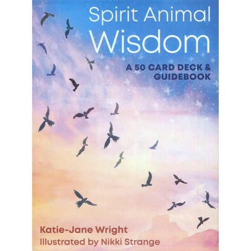 Spirit Animal Wisdom Card Deck by Katie-Jane Wright