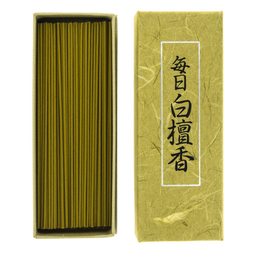 Mainichi-Koh Byakudan Incense (150 Sticks)