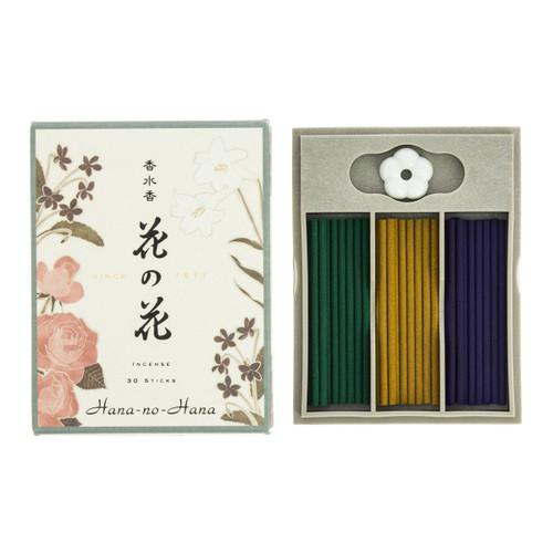 Hana no Hana Assorted Floral Incense (30 Sticks)