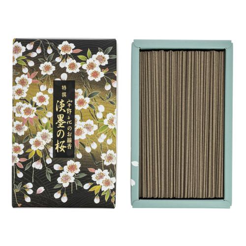Unochiyo Tokusen Sakura Usuzumi Incense (380 Sticks)