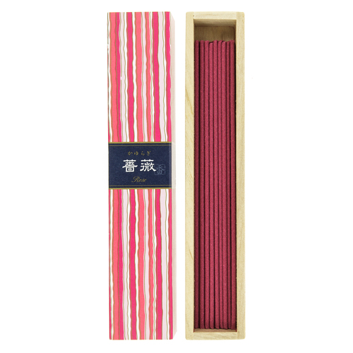 Kayuragi Rose Incense (40 Sticks)
