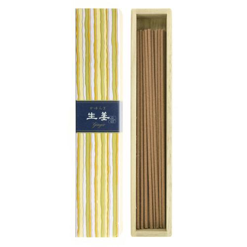 Kayuragi Ginger Incense (40 Sticks)
