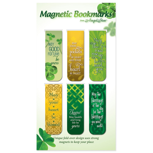 AngelStar Magnetic Bookmarks Good Luck (Pack of 6)
