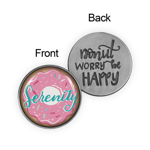 Serenity Life Is Sweet Antique Pewter Pocket Token