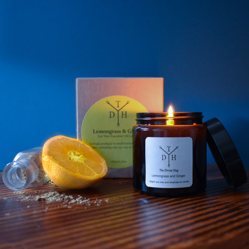 Lemongrass & Ginger Soy Wax Candle