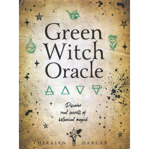 Green Witch Oracle Cards by Cheralyn Darcey