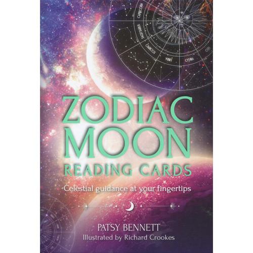 Zodiac Moon Reading Cards by Patsy Bennett