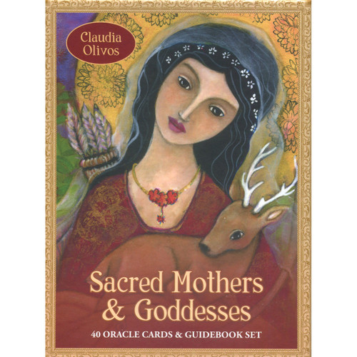 Sacred Mother & Goddesses Cards by Claudia Olivos