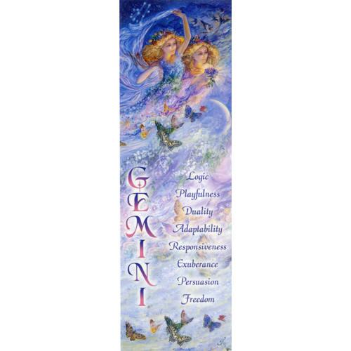 Gemini Bookmark by Josephine Wall