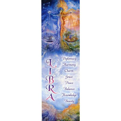 Libra Bookmark by Josephine Wall