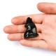 Black Obsidian Crystal Wolf