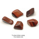 Red Tigers Eye Tumblestone (from South Africa)
