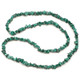 Malachite Crystal Chip Necklace (32 Inch)