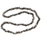 Hematite Crystal Chip Necklace (32 Inch)