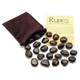 Black Jasper Crystal Rune Stones