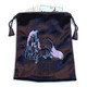 Unicorn Black Velvet Tarot / Oracle Card Bag