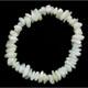 Mother of Pearl Crystal Chip Bracelet