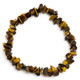 Golden Tiger's Eye Crystal Chip Bracelet