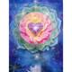 Lotus Heart Greeting Card (Birthday) by Alixandra Mullins
