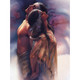 Kindred Souls Greeting Card (Love) by Lee Bogle