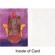 Hamsa Blessings Greeting Card (Blank)